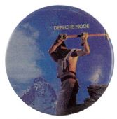 Depeche Mode - 'Construction Time Again' Button Badge
